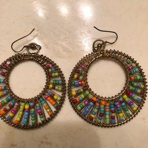 Kim Rogers Multi-Colored Pierced Earrings